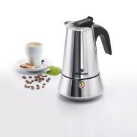 Espressokocher für 4 Tassen Induktion