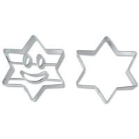Ausstechformen-Set Smiley Stern