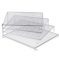 Kühlgitter mit 4 auffächerbaren Gittern
