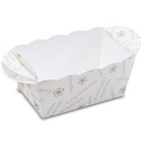 Mini-Backform aus Papier 10 Stück Glückwunsch