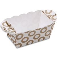 Mini-Backform aus Papier 10 Stück Ringe